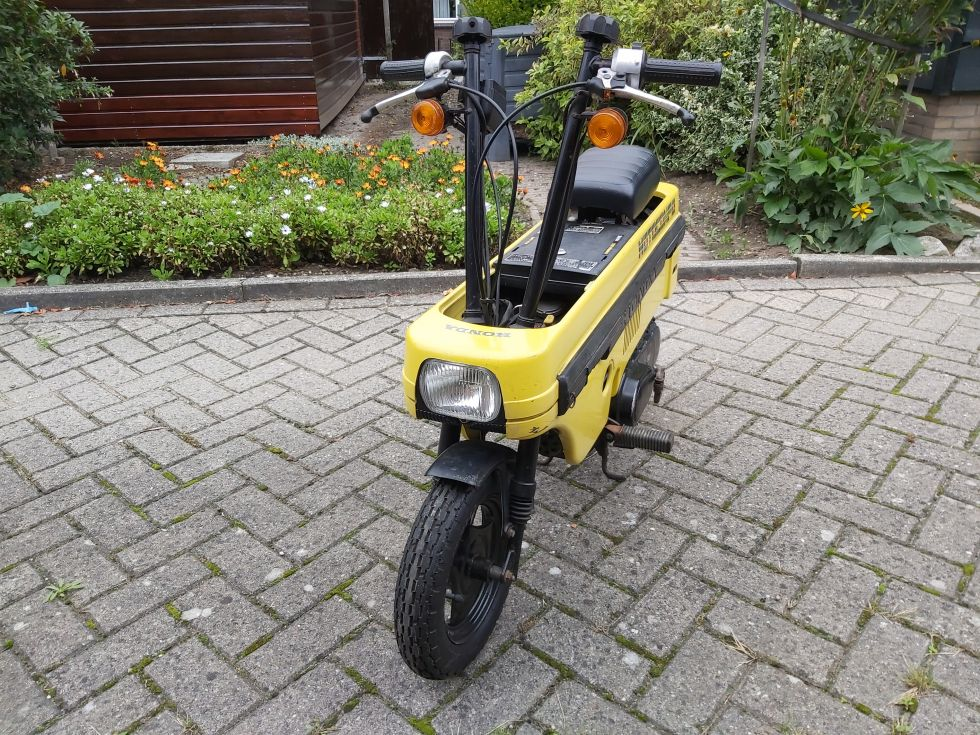 1981 Honda Motocompo, Yellow