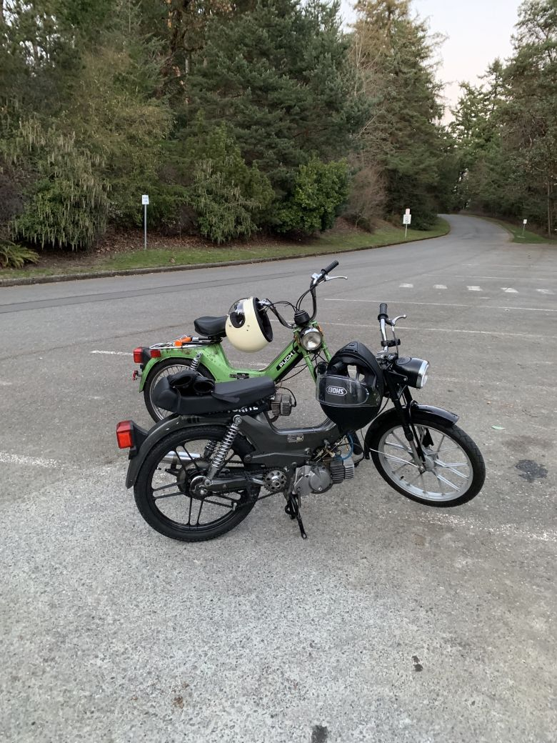 Moped photo for freerangeandferal