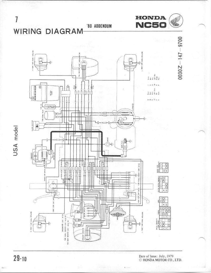 Re: Simplifying the wiring on a NC50 — Moped Army