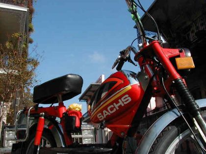 Sachs, Red and Chrome Tank
