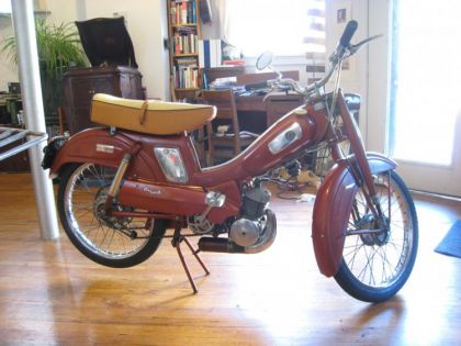 1962 Montgomery Wards Riverside Moped