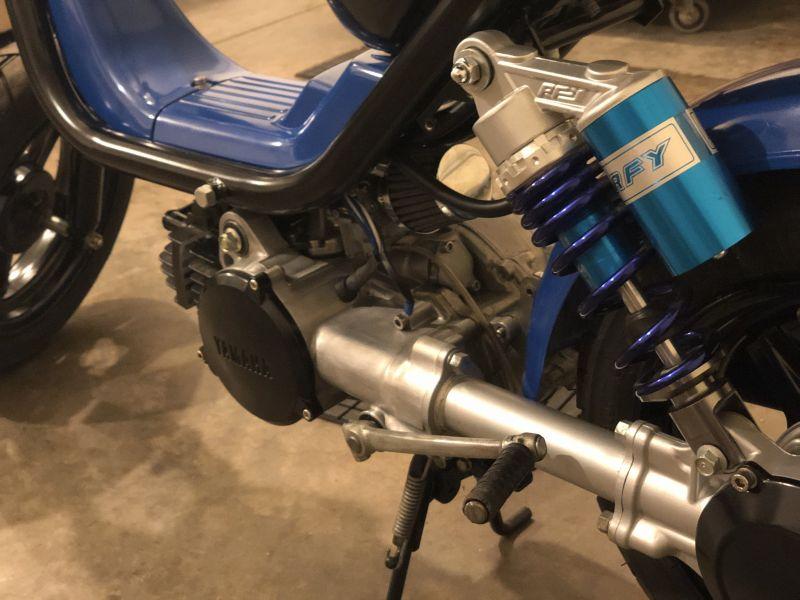 1980 Yamaha Lc50g  Champ 50   U2014 Moped Army