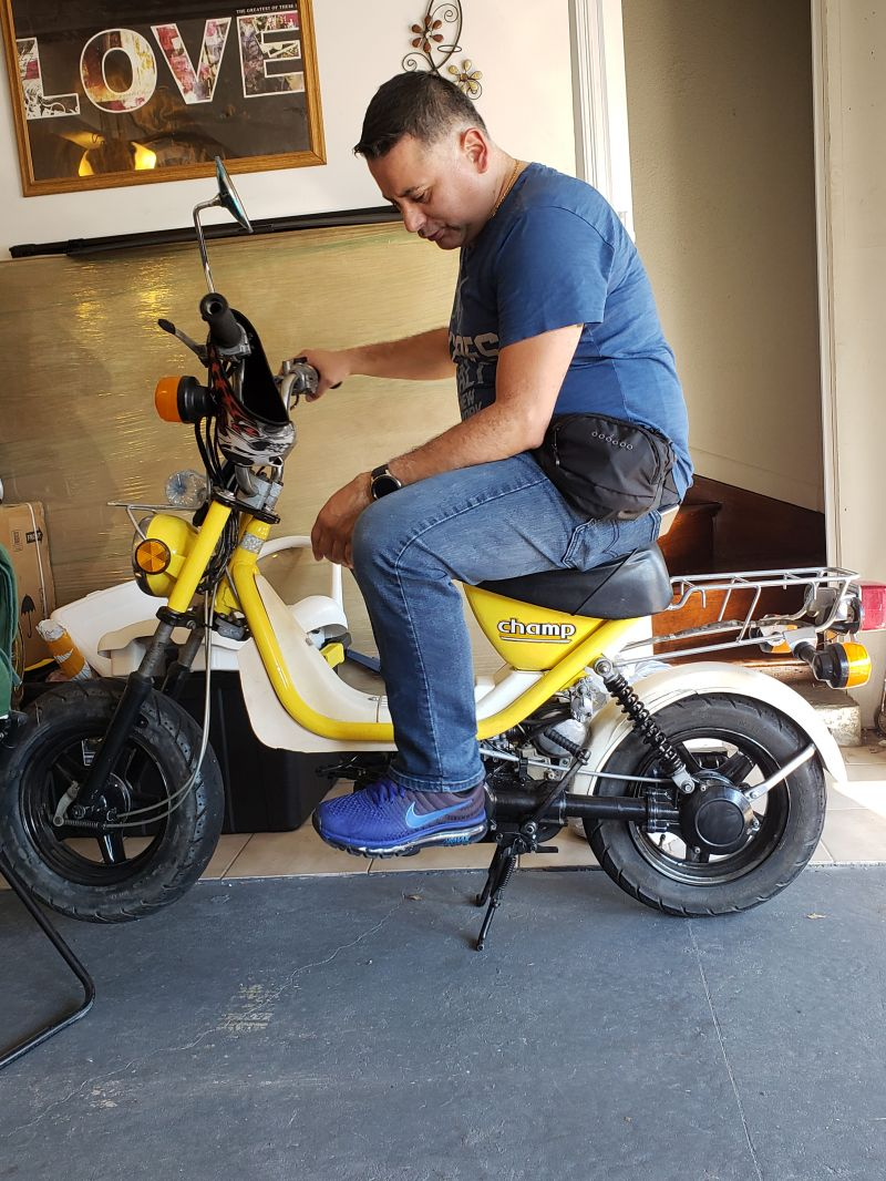 Yamaha Champ LC50 — Moped Army on