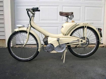 1961 Montgomery Wards Riverside Moped