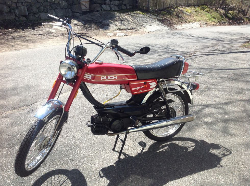 1978 Puch Magnum XK, Red