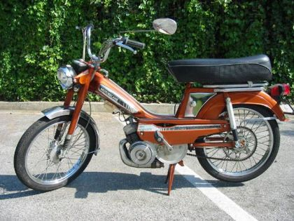 1979 Motobecane 50V, Metallic Orange