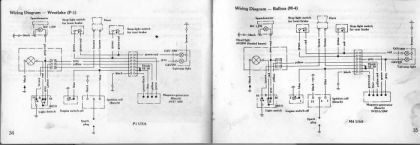 Sachs Balboa, 4 and 5 wire diagram