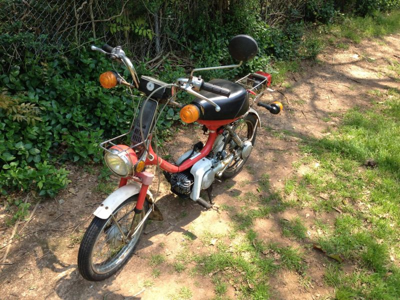 FS: 1985 Yamaha QT50 Running $300 NE Alabama — Moped Army