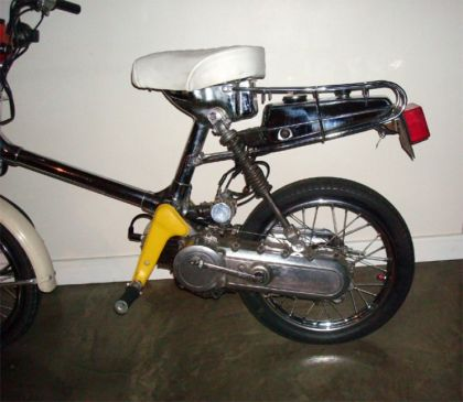 1980 Honda Express NC50, Chrome