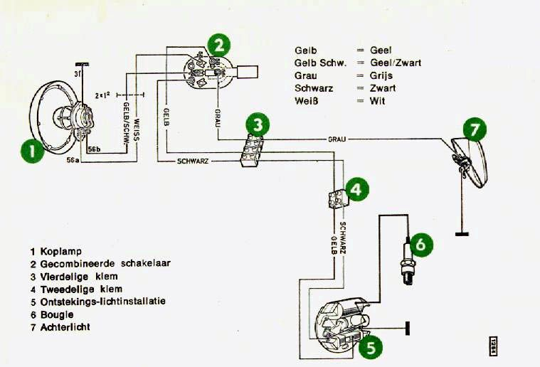 Puch Maxi wiring/no spark now. — Moped Army