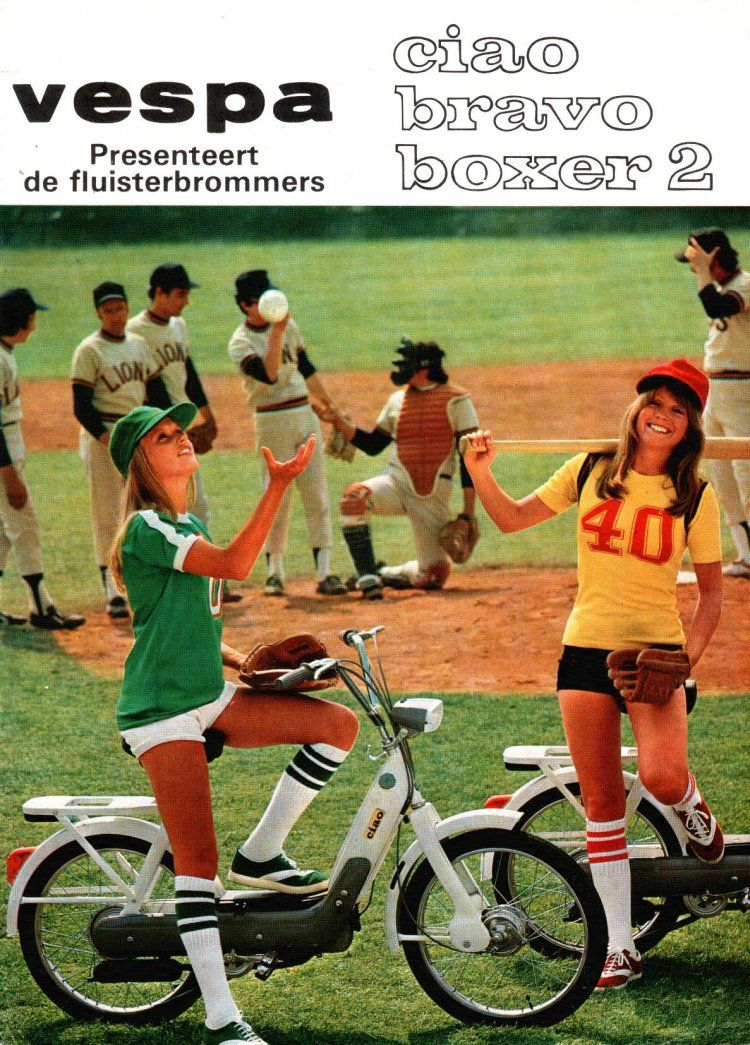 1976 Vespa, Baseball girls