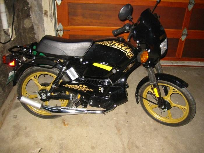 2001 Tomos Targa LX, Black and Gold