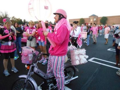 1977 Puch Maxi Luxe, Breast Cancer Walk