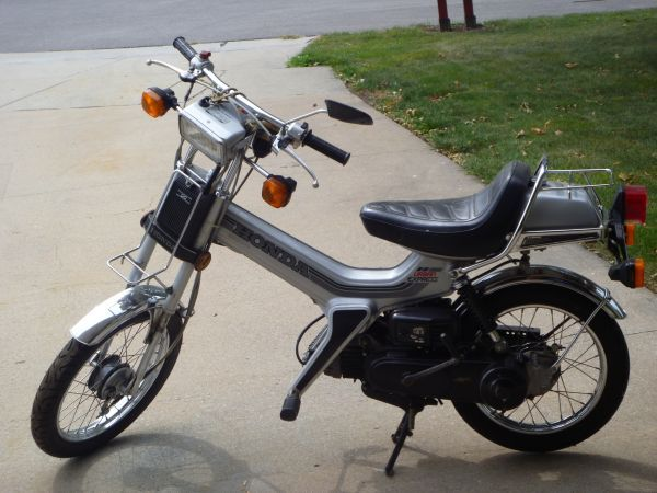 Should I Buy A 1983 Honda Urban Express Moped Army
