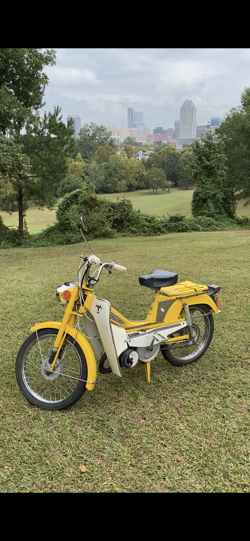 1978 Motobecane 50, Yellow