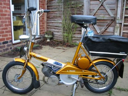 1967 Raleigh Wisp, Gold - Left Side