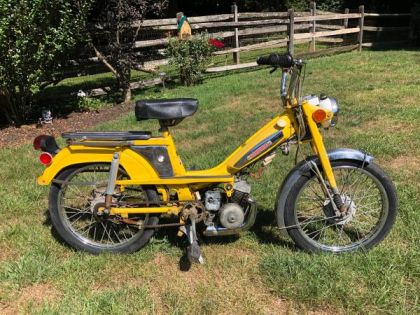 1976 Motobecane 50, Yellow