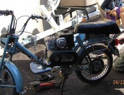1981 Jawa 210, with Briggs and Stratton Motor