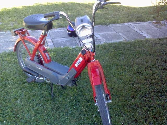1980 Vespa Ciao, Red