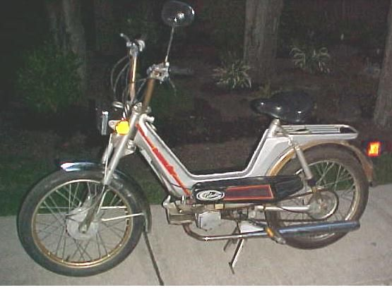 1980 Columbia Commuter, Silver