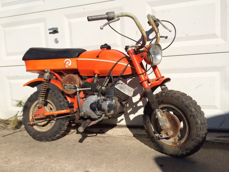 FS/OT: 1978 Rockford Chibi Rare 2 stroke mini-bike project
