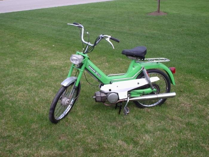 1975 Puch Maxi S, Green