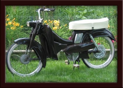 1959 Montgomery Wards Riverside Moped