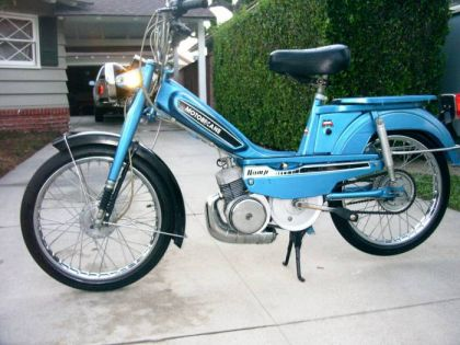 1981 Motobecane Romp, Left Side