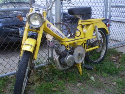 Motobecane 50V, Yellow
