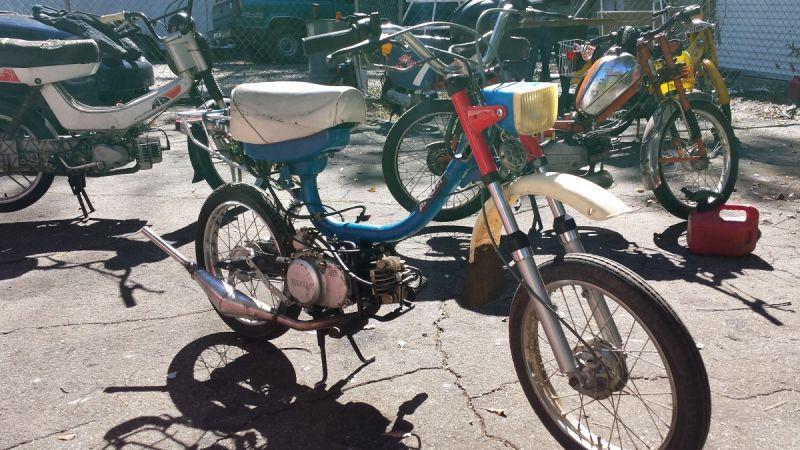 Yamaha QT50 Performance build — Moped Army