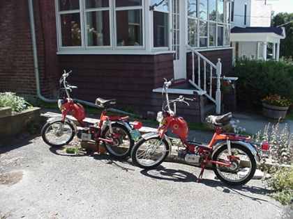 1977 Gloria Intramotor Scout, Pair, Red