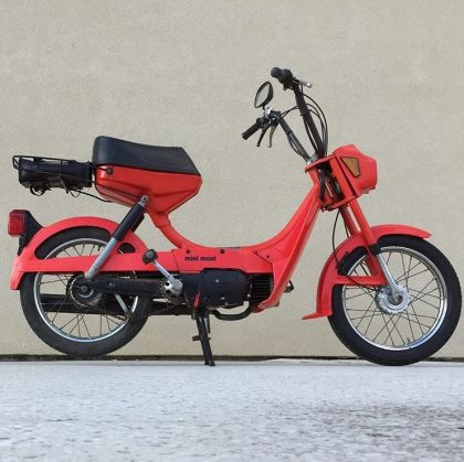 Puch Mini Maxi, Red