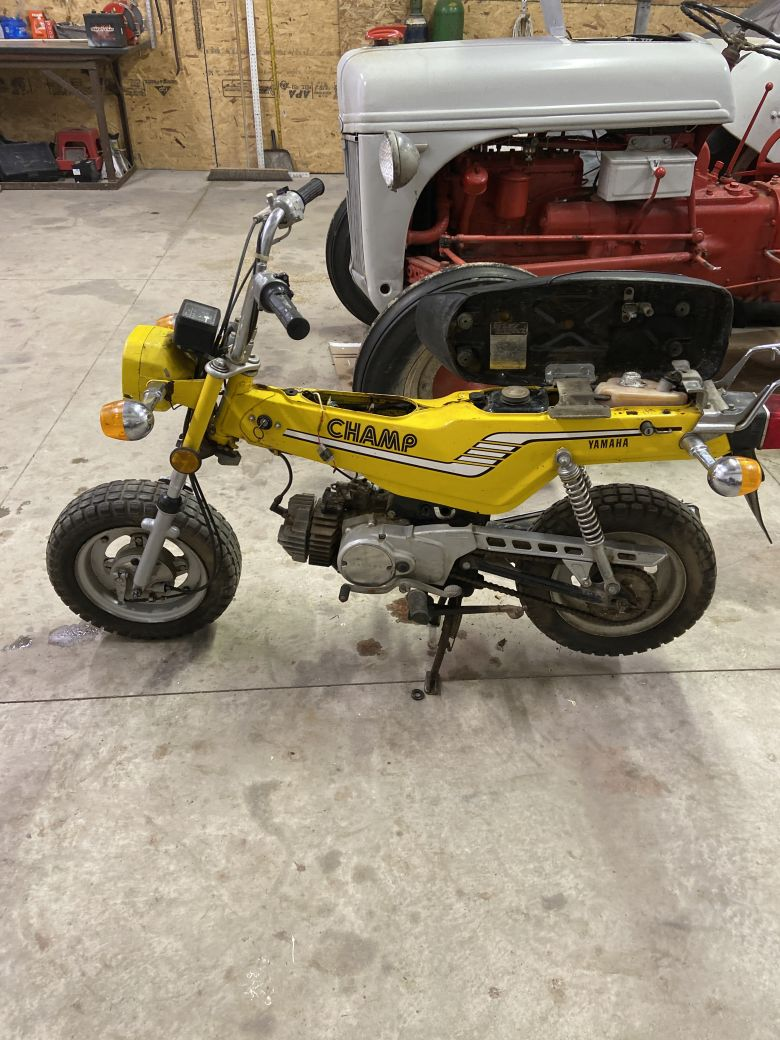 Moped photo for flanny