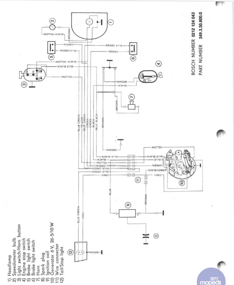 Need help with puch e50 wiring — Moped Army