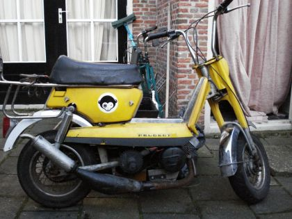 1978 Peugeot GL10, Yellow