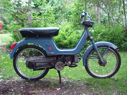 1972 Vespa Boxer, Side View