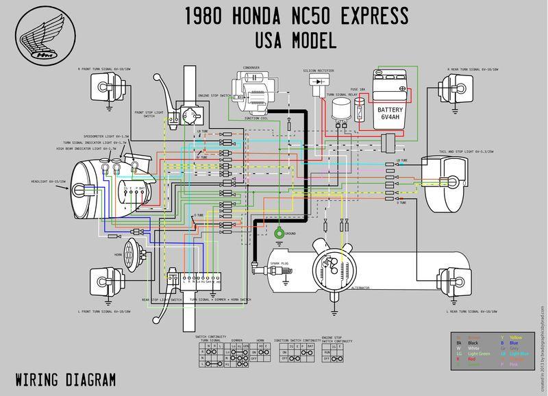Re  Wiring Photo Honda Express Nc50  U2014 Moped Army