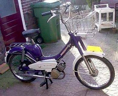 1972 Sparta Spartamatic, Purple