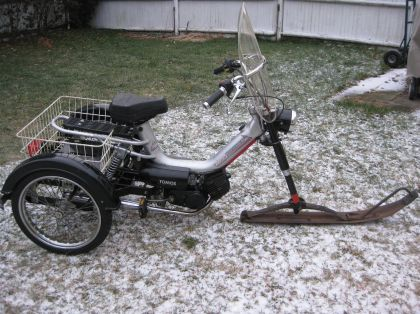 1980 Pryer, 1980 Pryer trike kit mated to a Tomos Arrow