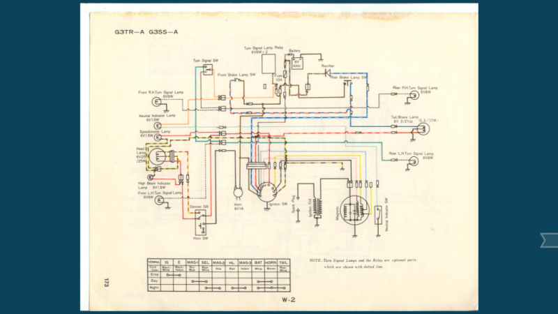 when running) and lights still dim/bright with revs ? ? ? oddly, i dont  know that the battery is wired correctly despite following this schematic
