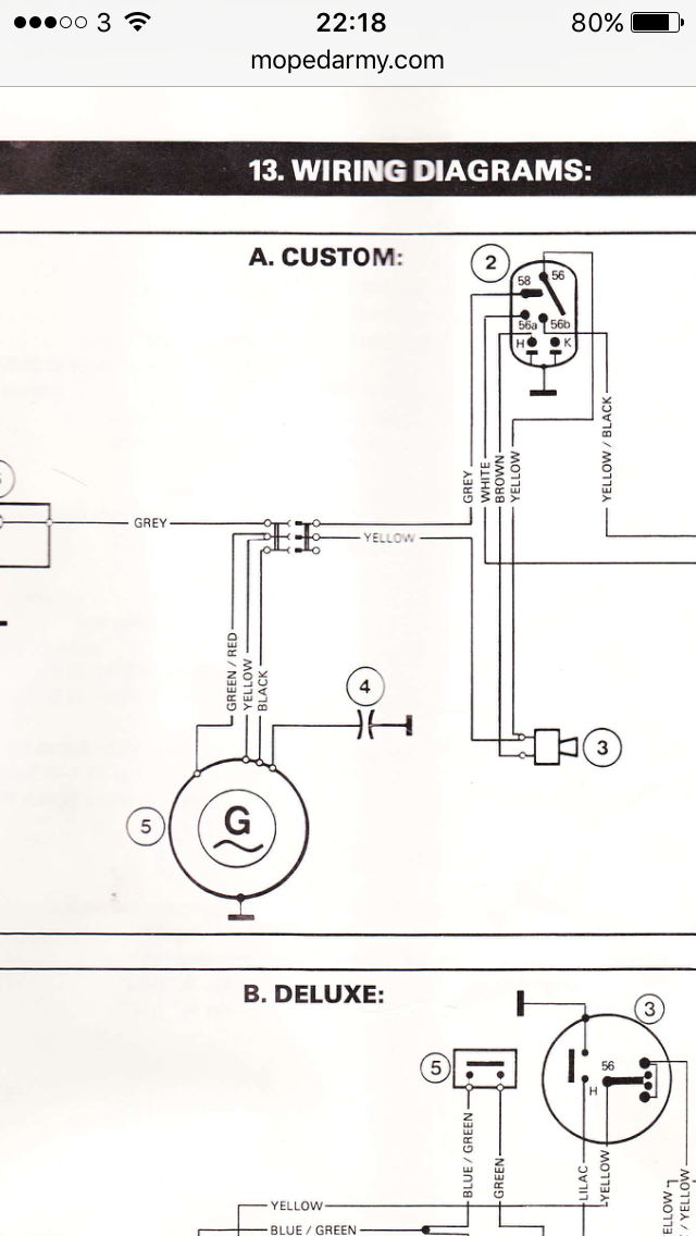 [DIAGRAM_4FR]  Puch magnum x magneto help — Moped Army | Wiring Diagram Puch Magnum |  | Moped Army