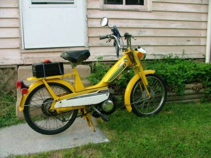 1976 Motobecane 40T, Yellow