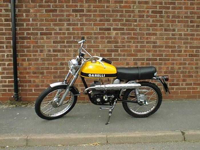 1975 Garelli Cross, Yellow