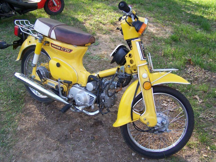 Honda C70, user submitted