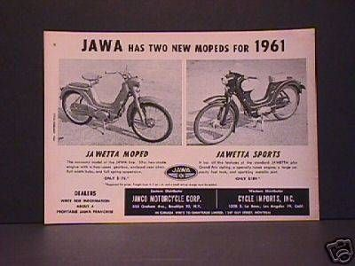 1961 Jawa, Two New Models