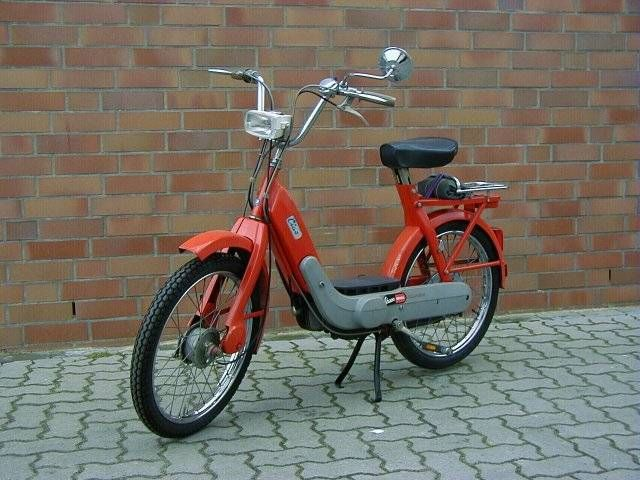 1970 Vespa Ciao, Red, German model