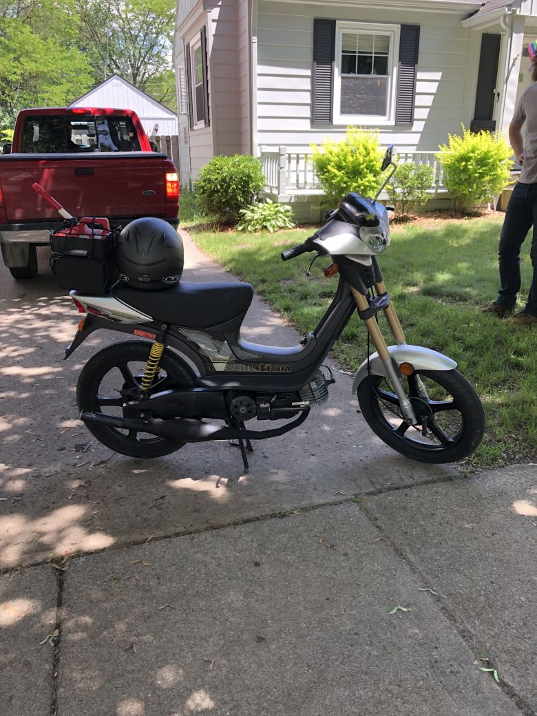 Moped photo for oldgreg