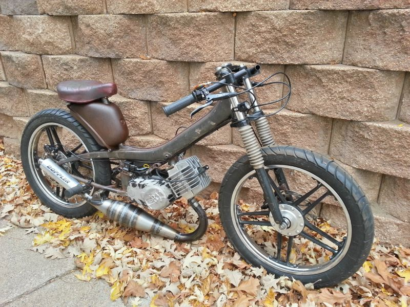 The most EXPENSIVE moped exhaust ever: Build thread — Moped Army