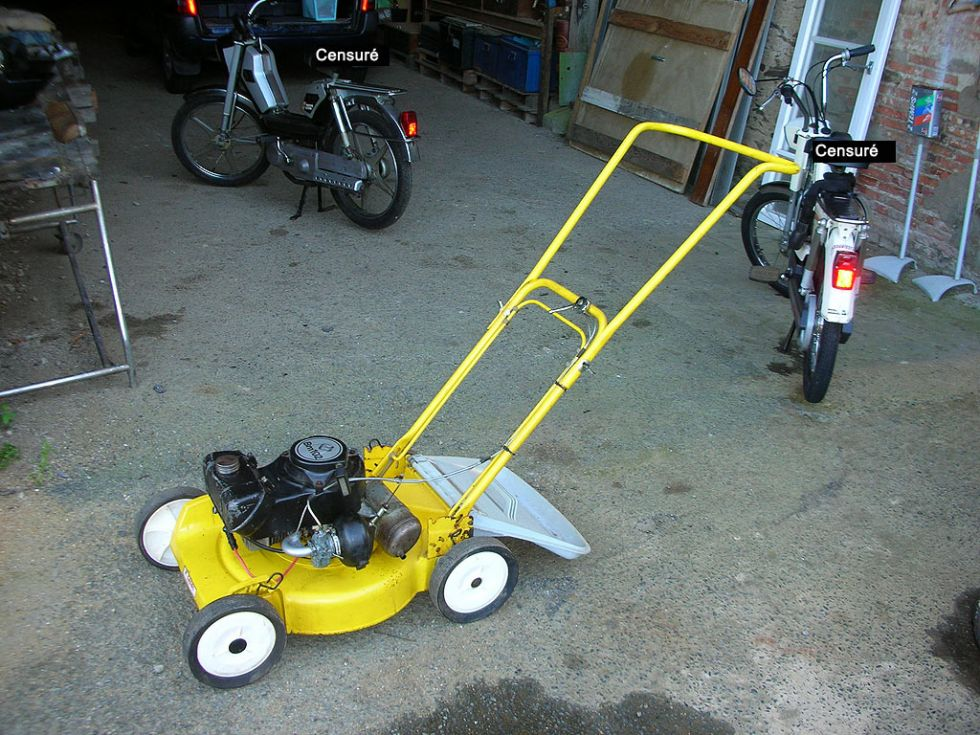 1980 Motobecane, Bernard BM3 lawnmower