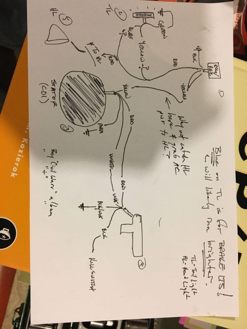 Re: Treats CDI, reg/rec, wiring diagram!!! Pinto 70cc Kstar